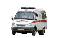 Er ambulance car royalty free stock image