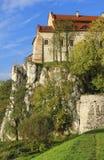 Er Benediktiner-Abtei in Tyniec, Krakau, Polen Stockfotografie