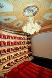 Er Bolshoi-Theater ein historisches Theater des Balletts und der Oper in Moskau, Russland Stockfotografie