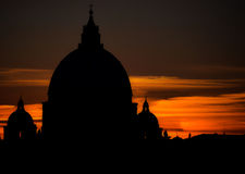 St . Peter's Vatican Royalty Free Stock Photos