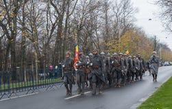 1er décembre - défilé militaire du jour national de la Roumanie Photographie stock