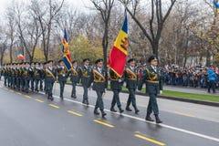 1er décembre - défilé militaire du jour national de la Roumanie Photos stock