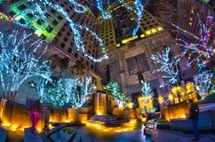 1er janvier 2014, Charlotte, OR, Etats-Unis - vie nocturne autour de charlot Photographie stock libre de droits
