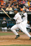 1er joueur de base Carlos Delgado de New York Mets Images libres de droits