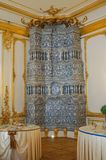 1er juillet 2017 Tsarskoye Selo, St Petersburg, Russie L'intérieur de Catherine Palace images stock