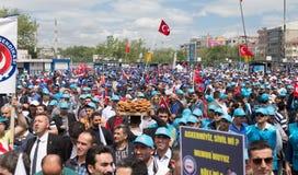 1er mai à Istanbul Photos libres de droits