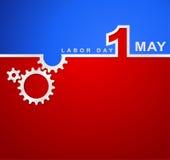 1er mai jour de travail international, fond de jour de travailleurs Images stock