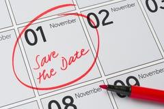 1er novembre Images libres de droits