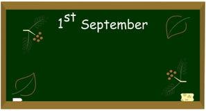 1er septembre Photographie stock
