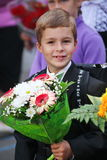 1er septembre, jour de la connaissance à l'école russe Jour de la connaissance Premier jour d'école Photographie stock
