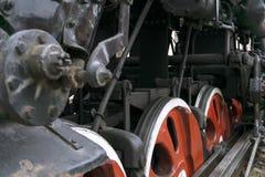Era van grote ijzermachines stock foto