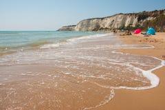 Eraclea Minoa. Beach of Eraclea Minoa, Sicily Stock Images