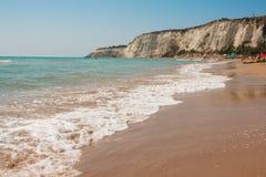 Eraclea Minoa. Beach of Eraclea Minoa, Sicily Royalty Free Stock Image