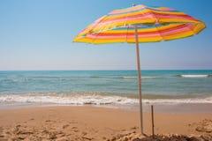 Eraclea Minoa. Beach of Eraclea Minoa, Sicily, Italy Stock Photos