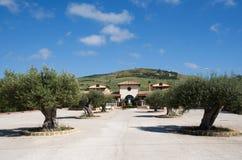 Eraclea Minoa, Sicily, Italy. Casa Piana near Eraclea Minoa, southern Sicily, Italy stock photo