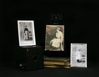 eraen 1910 fotograferar tappning royaltyfri fotografi