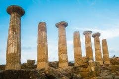 Erakles świątynia Zdjęcia Stock
