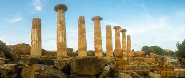 Erakles świątynia Fotografia Royalty Free