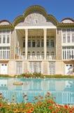 Eram-Garten mit Türkispool Lizenzfreies Stockbild