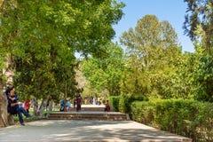 Eram ogród w Shiraz Iran zdjęcie stock