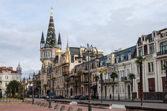 Eras Moedani square in Batumi Royalty Free Stock Image