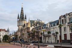 Eras Moedani square in Batumi Royalty Free Stock Image