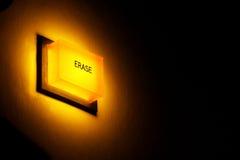 erase кнопки стоковые изображения rf