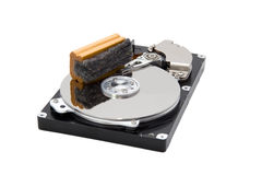 Erased Hard Drive Royalty Free Stock Photography