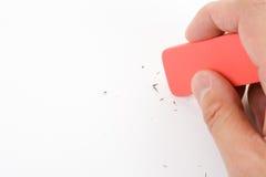 Eraser fotografia stock