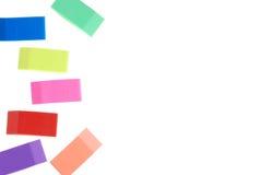 Eraser Assorted Immagini Stock Libere da Diritti