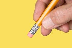 Eraser di matita Immagine Stock Libera da Diritti