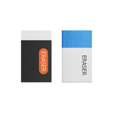 Eraser isolated is tool for correction on a white background of Stock Images