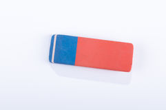 Eraser. Isolated on white background Stock Photos