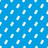 Eraser pattern seamless blue. Eraser pattern repeat seamless in blue color for any design. Vector geometric illustration Royalty Free Stock Photo