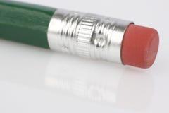 Eraser on pencil Royalty Free Stock Photos