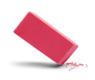 Eraser Pink Erasing Royalty Free Stock Photos