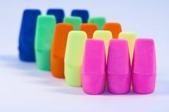Eraser variopinti Immagine Stock Libera da Diritti