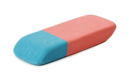 Eraser on white background Stock Photo