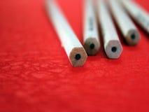Eraserless铅笔 库存图片