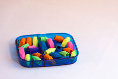 Erasers Stock Photography