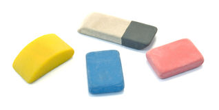 Erasers Royalty Free Stock Image