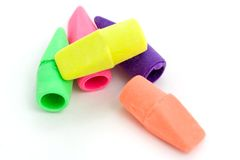 Erasers Stock Photo