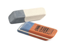 Erasers is isolated Royalty Free Stock Images
