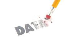 Erasing data Stock Images