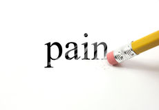 Erasing Pain Stock Photography