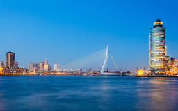 Erasmus桥梁 免版税图库摄影