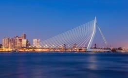Erasmus桥梁 库存照片