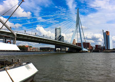 Erasmus Bridge stock photo