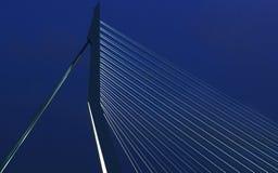 Erasmus Bridge Imagenes de archivo
