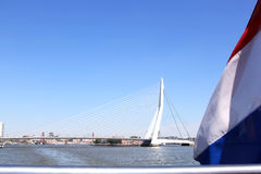 Erasmus Bridge in dutch city of Rotterdam Stock Photo